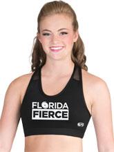 Florida Fierce In Motion Cheer Crop Top from GK Elite