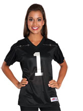 Black Mesh Cheerleading Jersey from GK Cheer