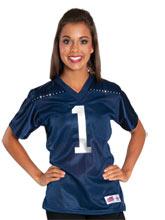 Navy Mesh Cheerleading Jersey from GK Cheer