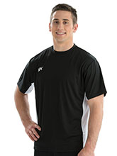 Men's Crew Neck Side Panel Tee from GK Gymnastics
