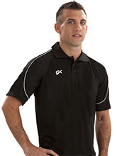 Men's Loose Fit Polo Shirt from GK Gymnastics