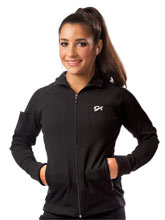 Fitted Micro Knit Warm-Up Jacket from GK Gymnastics