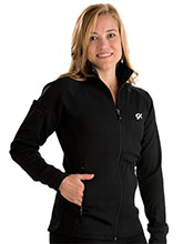 Relaxed Micro Knit Warm-Up Jacket from GK Elite