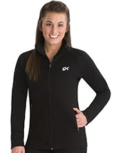 Relaxed Micro Knit Warm-Up Jacket from GK Gymnastics