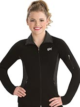 Balance Fitted Warm-Up Jacket  from GK Gymnastics
