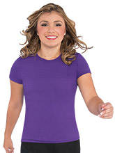 Women's Crew Neck Tee from GK Cheer