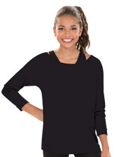 Women's Terry 3/4 Sleeve Raglan Top from GK Cheer