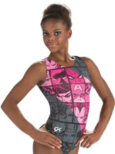 Marvel Fierce Comics Leotard from GK Gymnastics