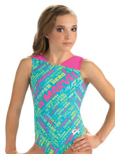 Marvel Tank Leotard from GK Gymnastics