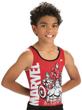 Marvel Competition Shirt from GK Gymnastics