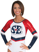 Faux Racerback Cheerleading Leotard from GK Cheer