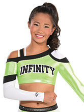Fierce Strappy Crop Top from GK Cheer
