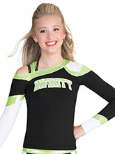 Fierce Strappy Uniform Top from GK Cheer