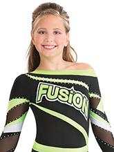Diagonal Diva Cheer Uniform Top from GK Cheer
