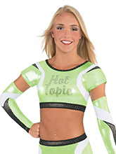 Boomerang V Cheer Uniform Crop Top From GK Cheer