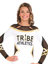 Twisted Cheer Uniform Top from GK Cheer