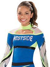 High Neck Intensity Uniform Top from GK Cheer