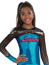 X Factor Cheer Uniform Top from GK Cheer