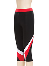 Regular Rise Speed Capri from GK Cheer