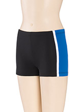 Low Rise Binding Cheer Shorts from GK Cheer