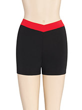 V Waist Cheer Shorts from GK Cheer
