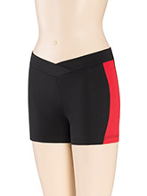 Panel V Waist Cheer Shorts from GK Cheer