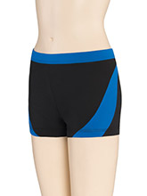 LR Sharp Accent Cheer Shorts from GK Cheer