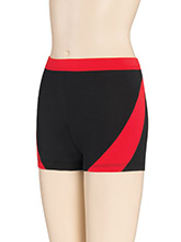 Sharp Accent Cheer Shorts from GK Cheer