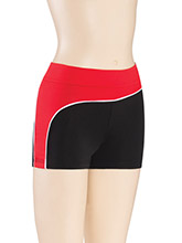 R Hip Swirl Cheer Shorts from GK Cheer