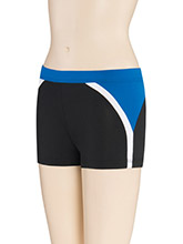 LR Round Edge Cheer Shorts from GK Cheer