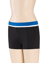 Low Rise Single Binding Cheer Shorts from GK Cheer