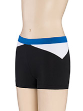 Low Rise Side Angle Cheer Shorts from GK Cheer