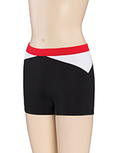 Regular Rise Side Angle Cheer Shorts from GK Cheer