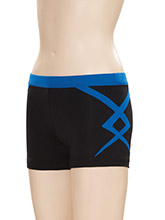 Twisted Low Rise Cheer Shorts from GK Cheer