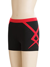Twisted Regular Rise Cheer Shorts from GK Cheer
