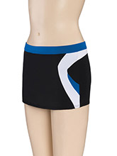 Low Rise Boomerang Cheer Skort from GK Cheer