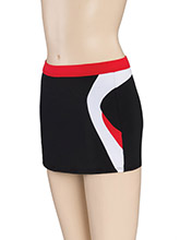 Regular Rise Boomerang Cheer Skort From GK Cheer