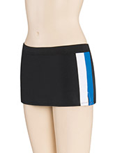 LR Wide Double Stripe Skirt from GK Cheer