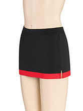 Single Stripe Hem Skirt from GK Cheer