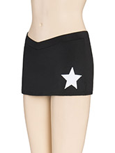 V Waist Star Cheer Skirt from GK Cheer