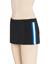 LR Triple Stripe Cheer Skirt from GK Cheer