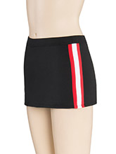 Triple Stripe Cheer Skirt from GK Cheer