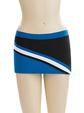 L-Rise 3 Diag Stripe Skirt from GK Cheer
