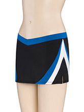 Diagonal Curve V Waist Cheer Skirt from GK Cheer