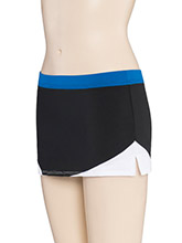 Low Rise Corner Curve Cheer Skirt From GK Cheer