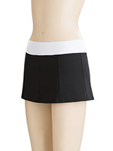 Mid Rise Classic Panel Cheer Skirt From GK Cheer