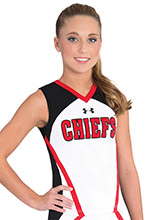 UA Perfection Cheer Uniform Shell from Under Armour