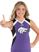 UA Courage Cheer Uniform Shell from Under Armour