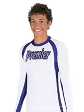 Crew Neck Raglan Men's Top from GK Cheer
