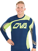 Men's Swirl Cheerleading Top from GK Cheer
